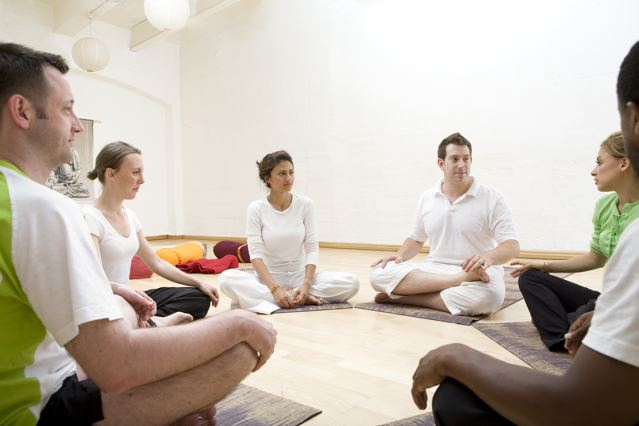 yoga therapy class for anxiety, stress and depression